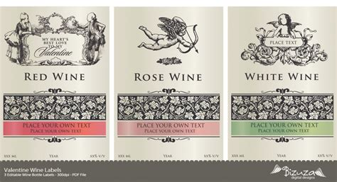 wine label template free printable wine label wine labels editable