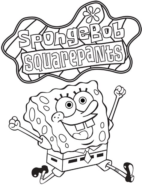 Free Printable Spongebob Coloring Pages by Spongebob Coloring Pages Printable Printable Coloring Page