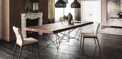 cattelan italia cattelan italia gordon deep wood dining table