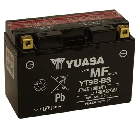 Big Size Bs 292 yt9b bs motorbike battery yamaha r6 motorcycle mds battery