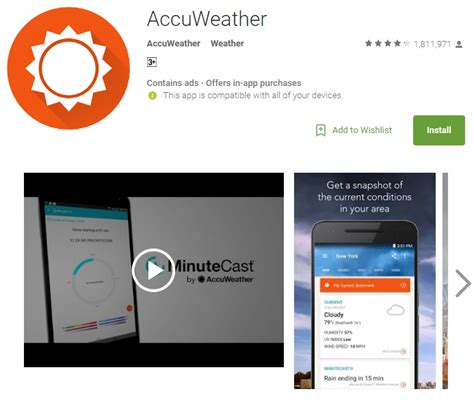 accuweather widget android accuweather app for android 28 images accuweather widget for android free madisondedal