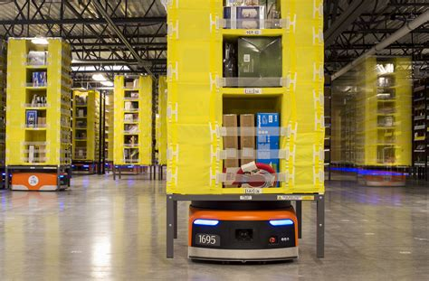 amazon warehouse robots amazon s robot army has grown by 50 business insider