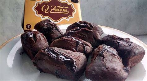 jual kue balok brownies q anom asli garut camilan