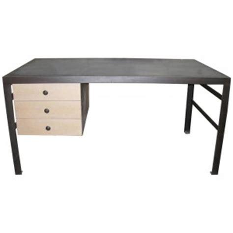 Steel Top Desk by Noir Metal Top Desk