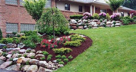 Rock Garden Pictures Ideas Plans Exles Custom Garden Designs About Informal Landscaping