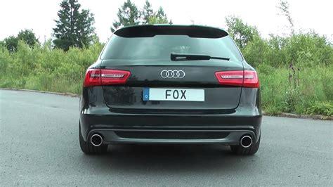 Audi A6 Sportauspuff by Audi A6 4g Fox Sportauspuff Exhaust By Fiese Performance