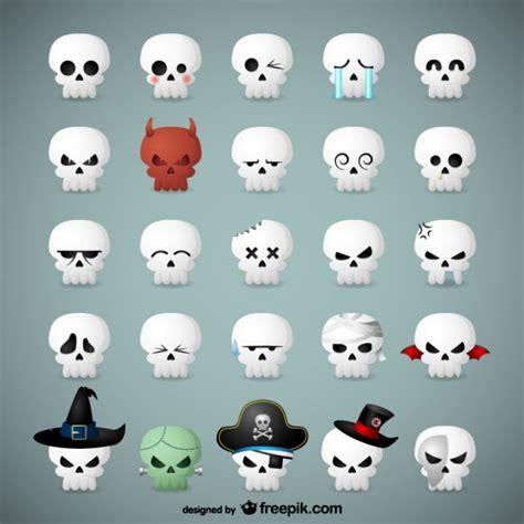 imagenes de calaveras para halloween emoticonos de calaveras para halloween descargar
