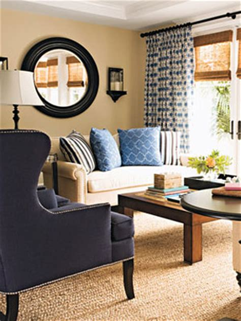 designs for living rooms in navy and beige decorating solutions tips for arranging furniture at womansday