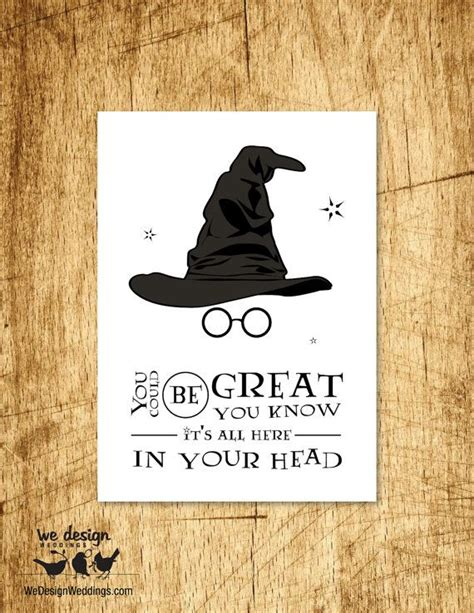Sorting Hat Place Cards Template 25 best ideas about harry potter cards on