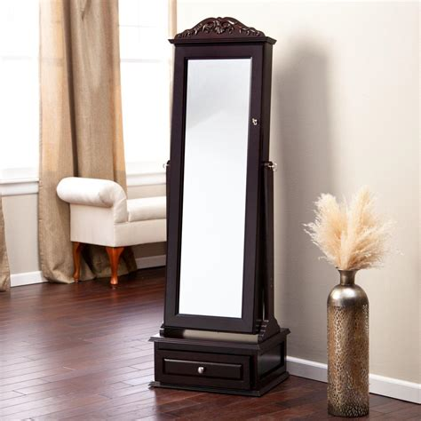 Jewelry Armoire Standing Mirror by Choosing Best Standing Mirror Jewelry Armoire Doherty House
