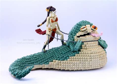 lego wars jabba the hutt lego wars princess leia and jabba the hutt fizx