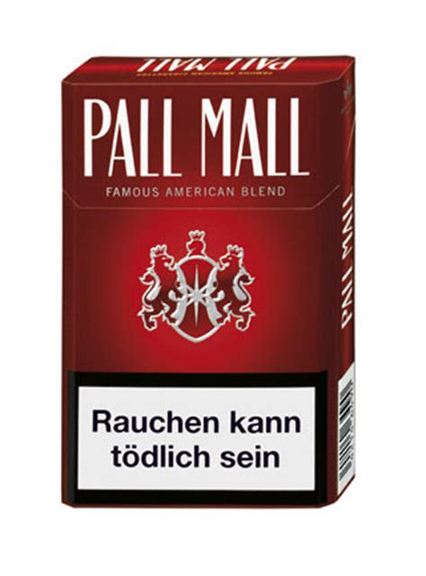 mall reds pall mall red zigaretten tabak and more