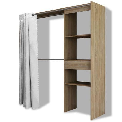 larghezza armadio articoli per vidaxl armadio con tenda larghezza regolabile