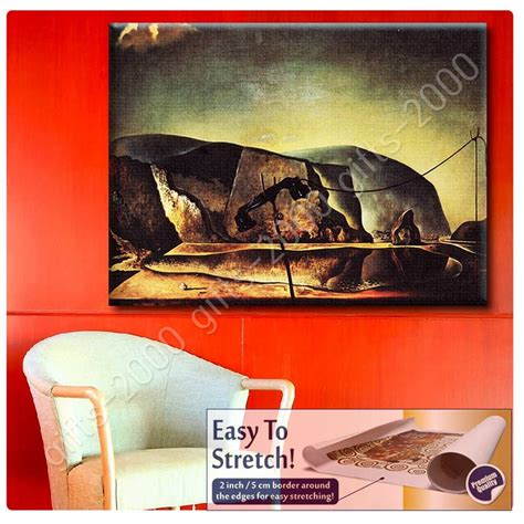 salvador dali living room canvas rolled lobster telephone salvador dali canvas for living room artwork ebay