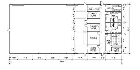 fire department floor plans steel government buildings general steel
