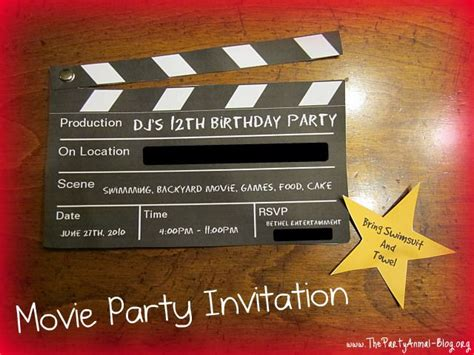 themes in film making 17 best images about eddies movie birthday party on