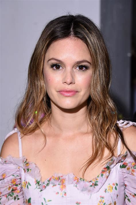 rachel bilson at brock collection fashion show during new