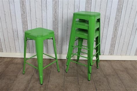 Child Bright Green Stool by Green Style Stool Retro Vintage Restaurant Cafe