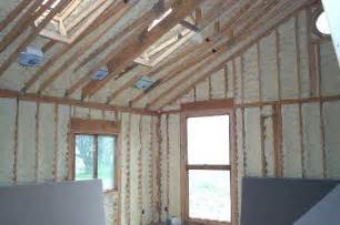 How To Insulate A Pole Barn Ceiling The Icynene Insulation System By Eto Contracting