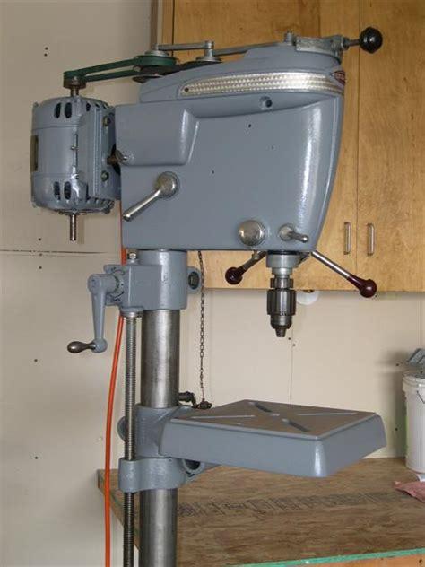 1950 craftsman floor standing drill press craftsman king seeley floor model drill press vintage tools
