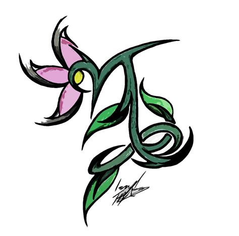 girly capricorn tattoo designs capricorn by lilb2st on deviantart