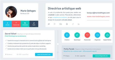11 beautiful flat resume design