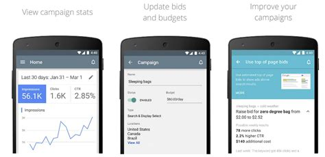 google adsense android app now available google adwords app for android now available 9to5google