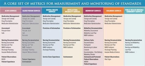 nursing midwifery quality care metrics qc  ehealth ireland