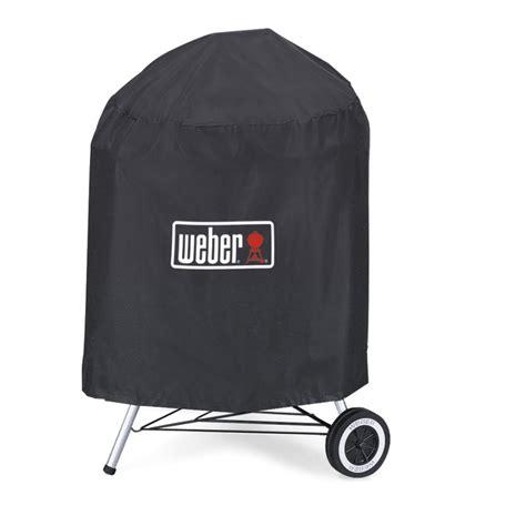 shop weber vinyl   charcoal kettle grill cover  lowescom
