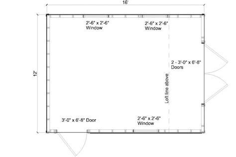 garden shed floor plans gambrel roof angles 12x16 images