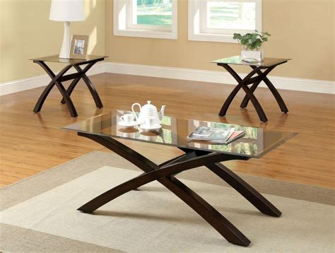glass coffee and end tables glass top living room tables peenmedia com