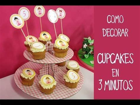 decoracion facil para cupcakes c 243 mo decorar cupcakes f 225 cil y r 225 pido
