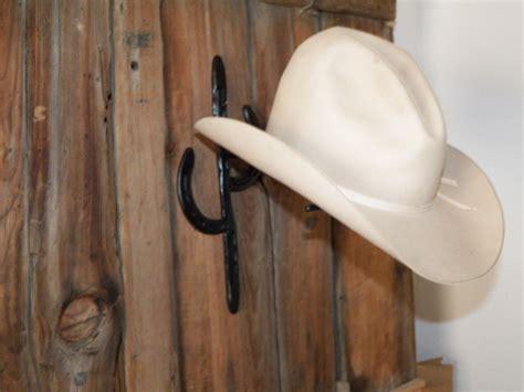 Horseshoe Cowboy Hat Rack by Horseshoe Cactus Cowboy Hat Rack