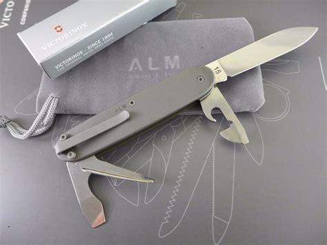Titanium Multifunction Swiss Army Knife titanium custom victorinox pioneer o d green cerakote swiss army knife mod green knives and