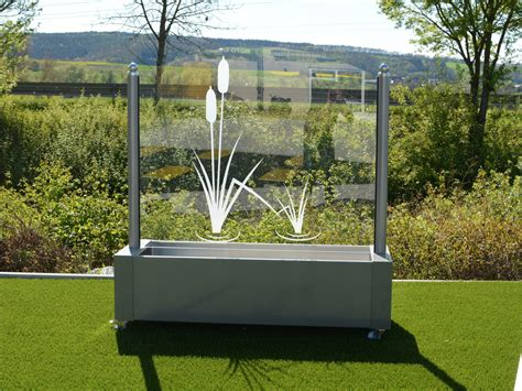 Terrasse Windschutz Glas by Windschutz Aus Glas F 252 R Garten Und Terrasse