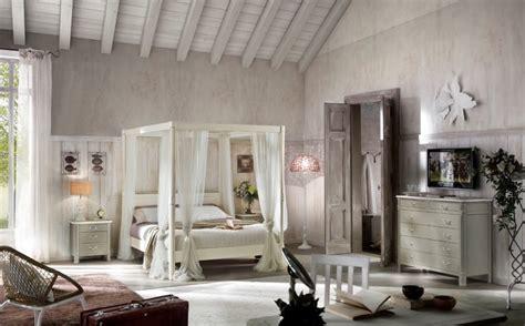 letto baldacchino bianco letto matrimoniale a baldacchino in stile provenzale
