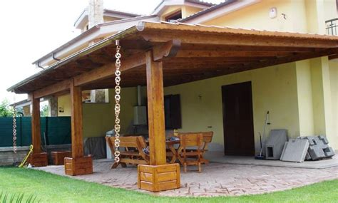 tettoie da giardino in legno costruire tettoia in legno pergole e tettoie da giardino