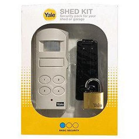 Yale Shed And Garage Alarm by Yale Shed Or Garage Alarm Kit Ebuyer