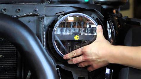 Jeep Jk Headlight Upgrade Kc Hilites Jk Jeep Wrangler Headlight Install