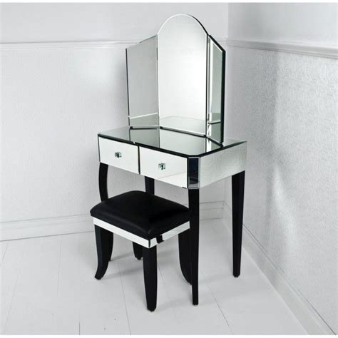 mirrored makeup vanity table mirrored makeup storage is a stylish way to unclutter the