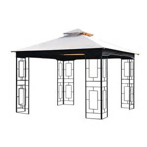 Garden Treasures Pergola Canopy Replacement by Shop Garden Treasures Beige Replacement Canopy Top At