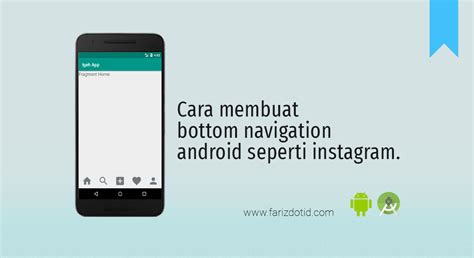 membuat instagram di android cara membuat bottom navigation android seperti instagram