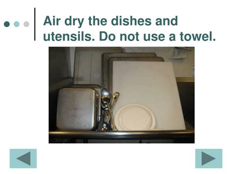 washing dishes in bathroom sink ppt haccp dish washing in 3 compartment sinks powerpoint presentation id 3149841