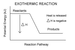 exothermic energy diagram chemistry 30 chemical kinetics potential energy diagrams