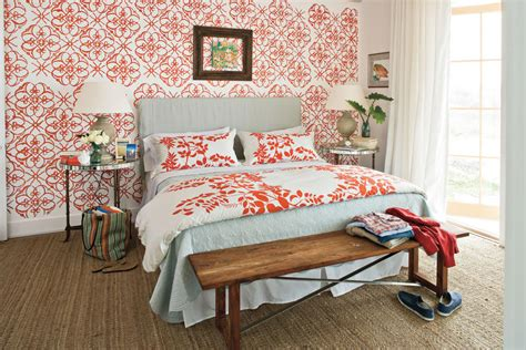 southern living bedroom ideas bold pattern master bedroom decorating ideas southern
