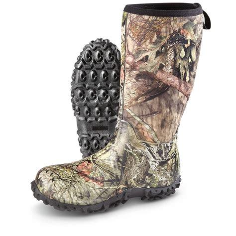 mossy oak boots itasca s bayou rubber boots waterproof mossy oak
