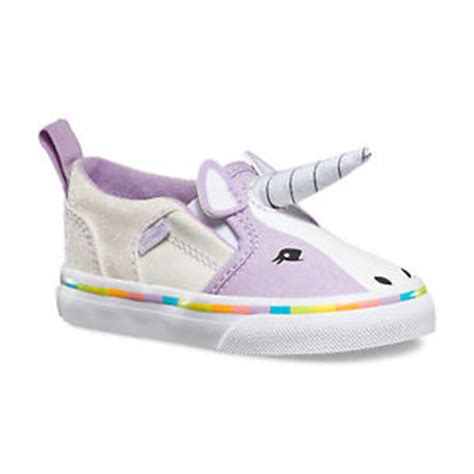 brand new vans asher v toddler slip on shoes