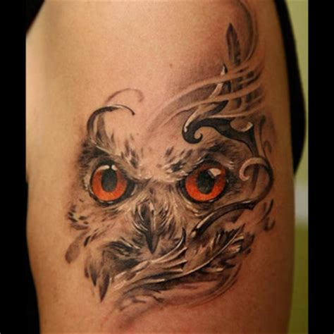 owl tattoos meanings snowy owl meaning