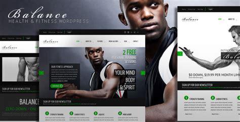 themes wordpress fitness balance gym fitness wordpress html 5 theme by