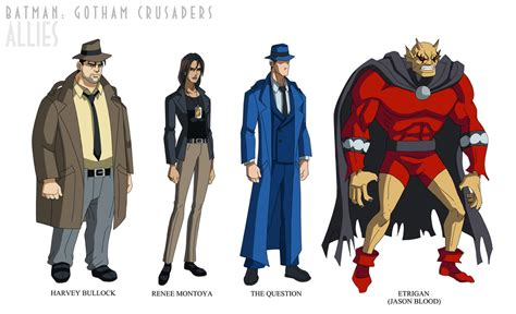 Tas Set 3 In 1 Blue Series Jj 3125 batman gotham crusaders allies 2 by phil cho on deviantart